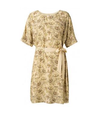 Yaya Belted dress printed **00 1801345-115