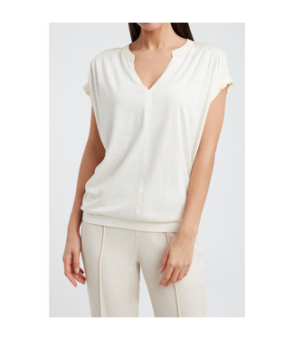 Yaya Fabric mix top **00 1909429-115