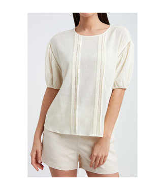 Yaya Boxy cotton top **00 1901438-115