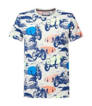 Petrol Industries Men t-shirt ss round neck grijs M-2010-TSR707