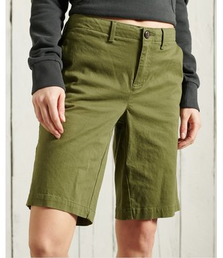 Superdry City chino short groen W7110007A
