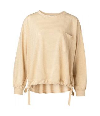 Yaya Gathered bottom sweatshirt **01 1009435-115