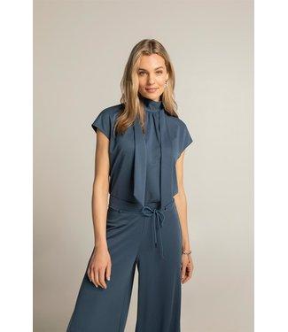Expresso Sleevless top blauw EX21-13002