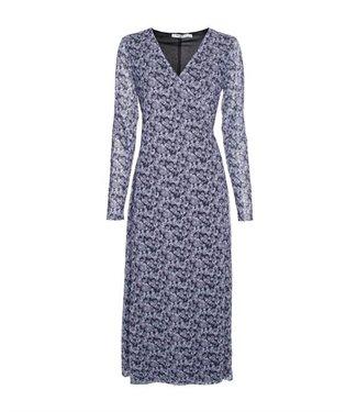 NA-KD Overlap midi dress paars 1100-004239