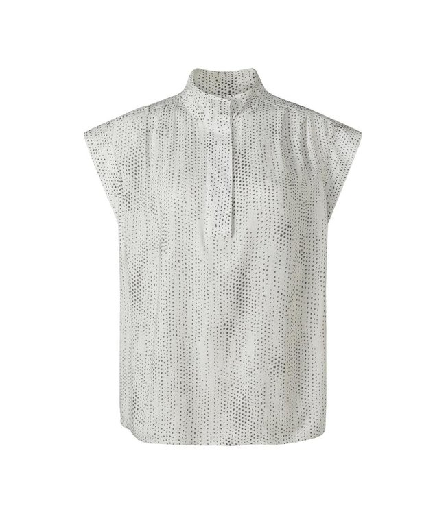 Yaya Printed sleeveless top **00 1901458-121
