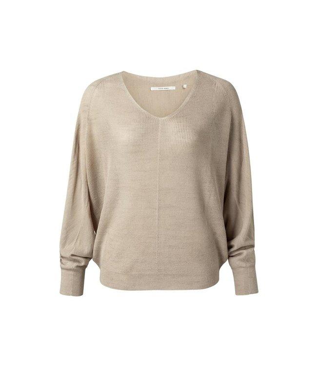 Yaya Batwing vneck sweater ls **00 1000441-121