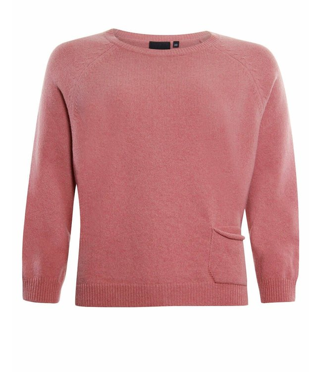 Poools Pullover pocket roze 133125