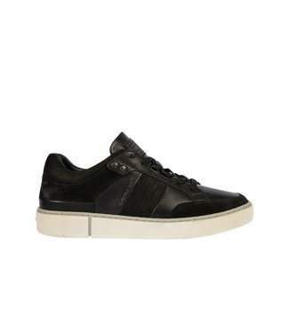 RAW Footwear Ravond mid dnm zwart 2142005505