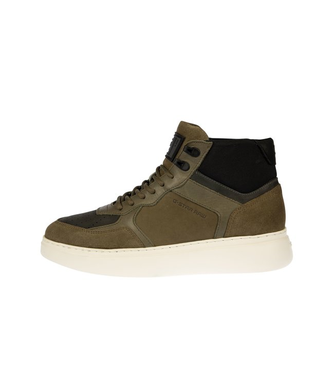 RAW Footwear Lash mid blk groen 2142009703