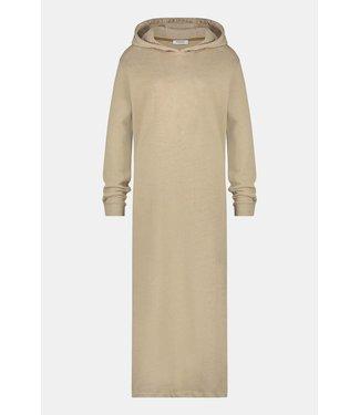 PENN&INK N.Y Dress whit hood off white W21T648