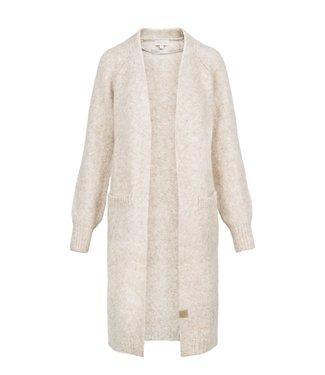 Zusss Simpel lang vest off white Simpel lang vest