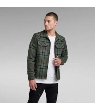 G-Star Check overshirt jacket grijs D20163-C840-C642