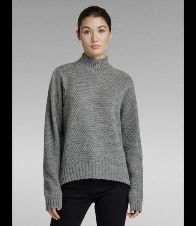 G-Star Structure mock knit **A0 D20492-C873-906