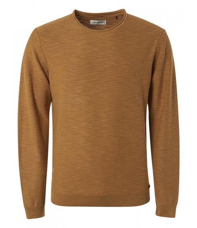 No Excess Pullover Crewneck Slub Garment Dyed 12210701-189