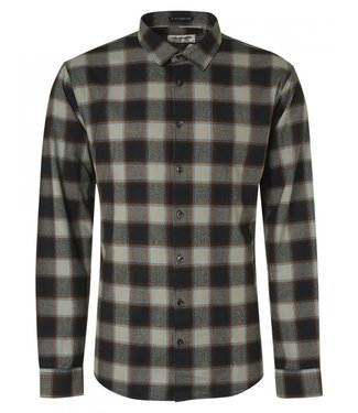No Excess Shirt Flannel Check Herringbone Res 12430815-049