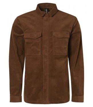 No Excess Overshirt Button Closure Corduroy Shirt 12410807-140