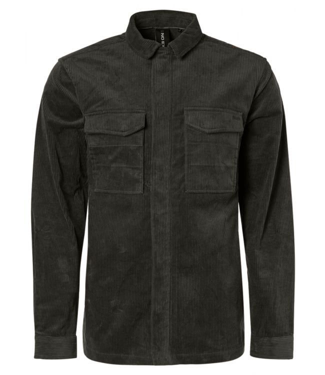 No Excess Overshirt Button Closure Corduroy Shirt 12410807-149