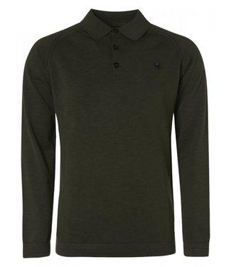 No Excess Pullover Polo Slub Garment Dyed 12230828-152
