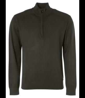 No Excess Pullover Half Zipper Solid 12230831SN-149