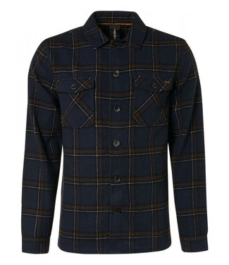 No Excess Overshirt Button Closure Check With 12410912-078