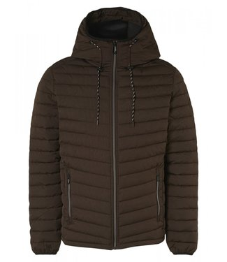 No Excess Jacket Short Fit Hooded Padded 12630805-196