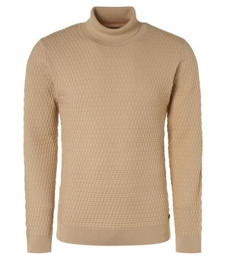 No Excess Pullover Rollneck Jacquard Knit Sol 12210902-014