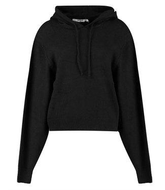 NA-KD Basic hoodie zwart 1100-004341
