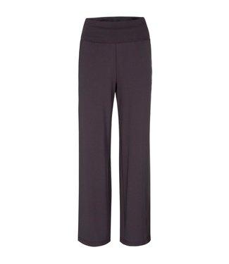 Yaya Jersey wide leg trousers Obsidian Black 1209154-121