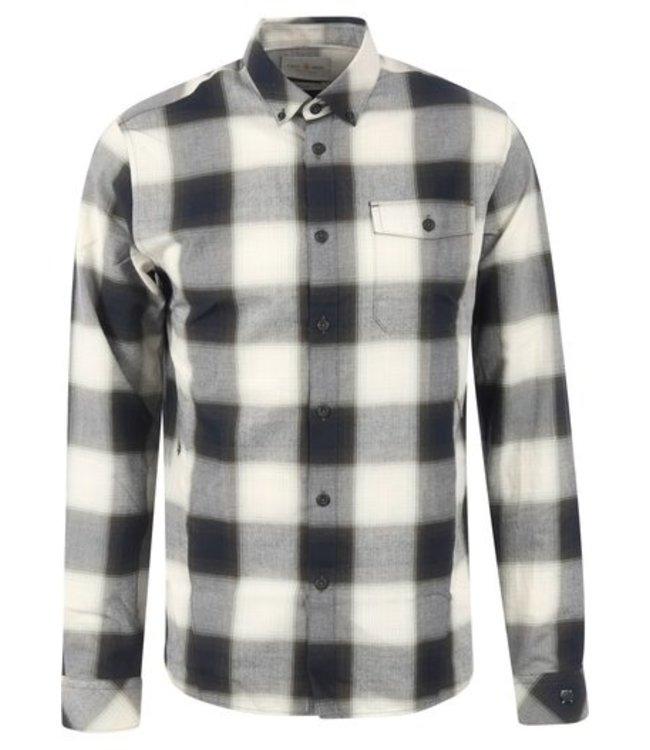 Cast Iron Long Sleeve Shirt Yd Shadow Check CSI215202-6425