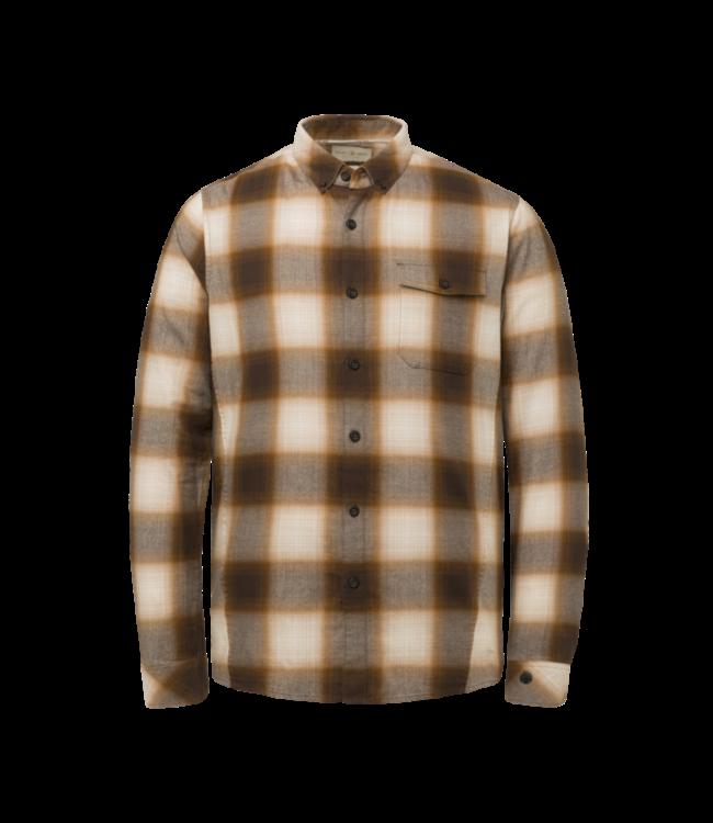 Cast Iron Long Sleeve Shirt Yd Shadow Check CSI215202-8197