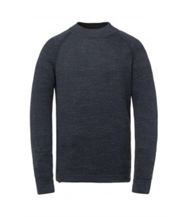 Cast Iron Mock neck cotton heather plated CKW215301-5073
