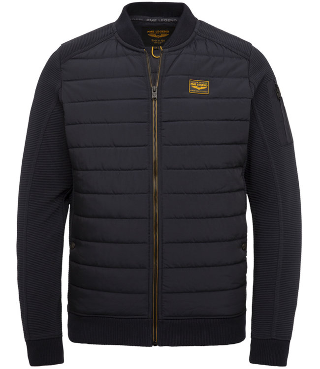 PME Legend Zip jacket ottoman mixed padded ny **00 PSW215419