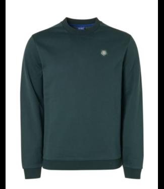 Qubz Sweater Crewneck Back Print **01 Q03100924