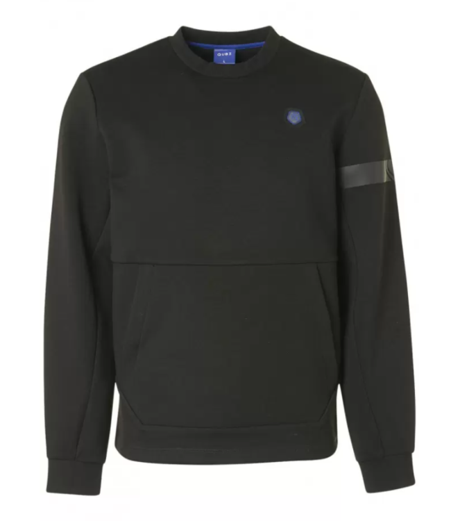 Qubz Sweater Crewneck Pocket **A4 Q03100915
