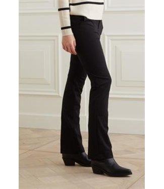 Yaya Jersey flare stretch pantalon Black 1219084-122