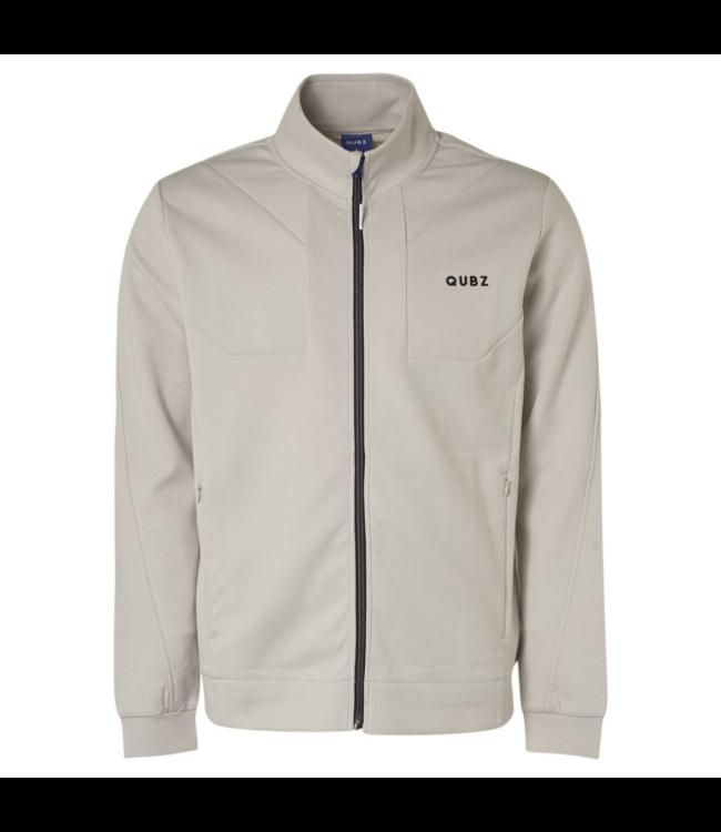 Qubz Sweater Full Zip **A4 Q03100801