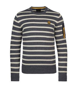 PME Legend R-neck cotton rib knit **00 PKW215307