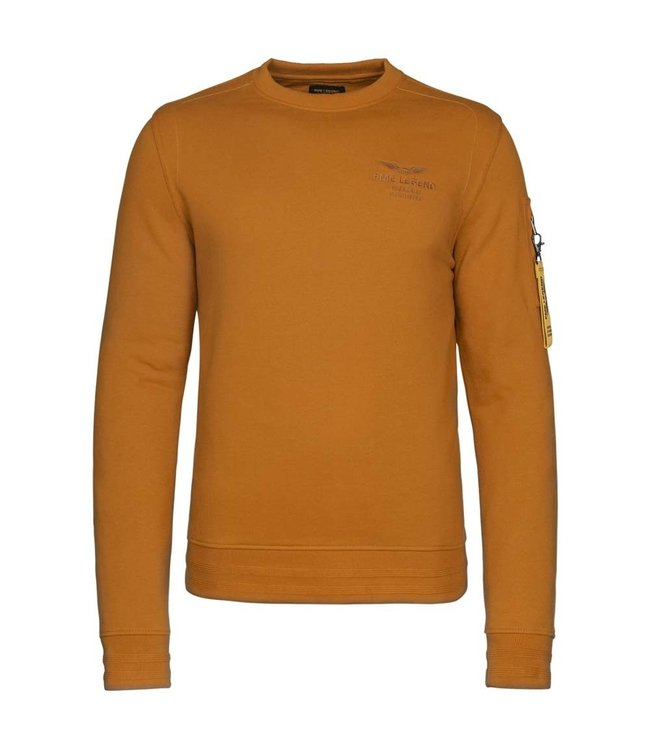 PME Legend Long sleeve r-neck brushed sweat **01 PSW216420