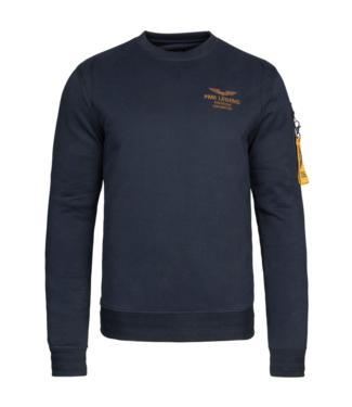 PME Legend Long sleeve r-neck brushed sweat **00 PSW216420