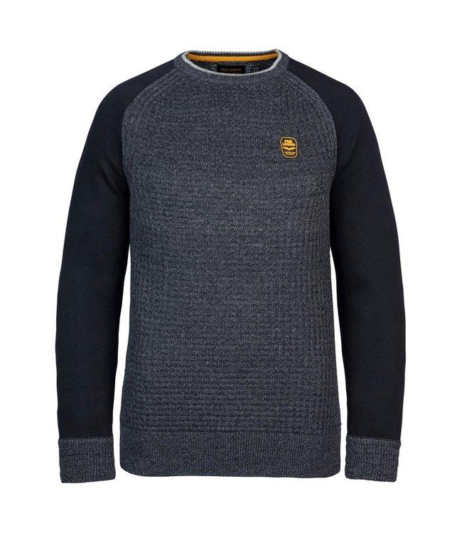 PME Legend R-neck knit sweat combination **00 PKW216327