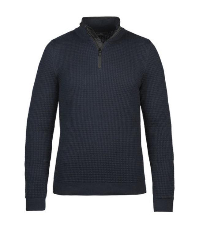 Vanguard Half zip collar cotton  structure **00 VKW216324