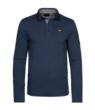 PME Legend Long sleeve polo fine stripe jerse **00 PPS215830