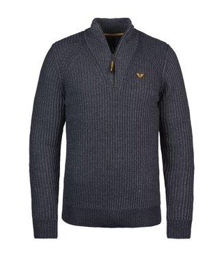 PME Legend Half zip collar cotton mix knit **00 PKW216322