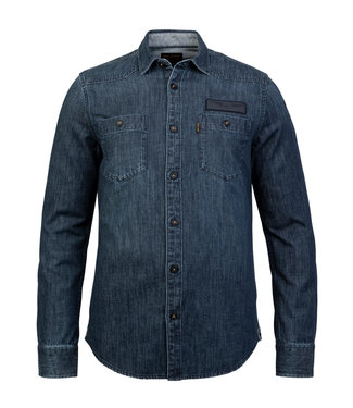 PME Legend Long Sleeve Shirt Denim fabric **00 PSI216227