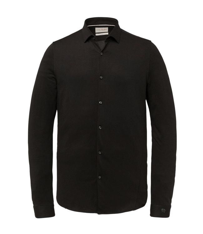 Cast Iron Long Sleeve Shirt Jersey Pique Oxf **00 CSI216214