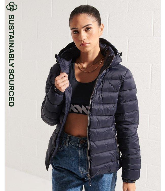 Superdry Classic fuji puffer jacket donkerblauw W5010999A