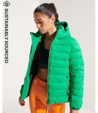 Superdry Classic fuji puffer jacket groen W5010999A