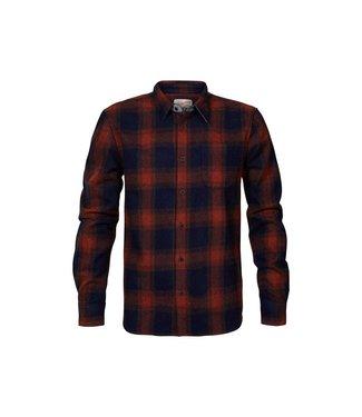 Petrol Industries Shirt l/s rood M-3010-SIL438