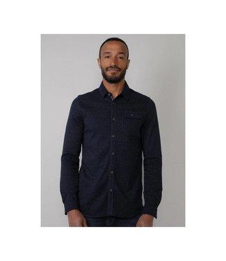 Petrol Industries Shirt l/s donkerblauw M-3010-SIL419