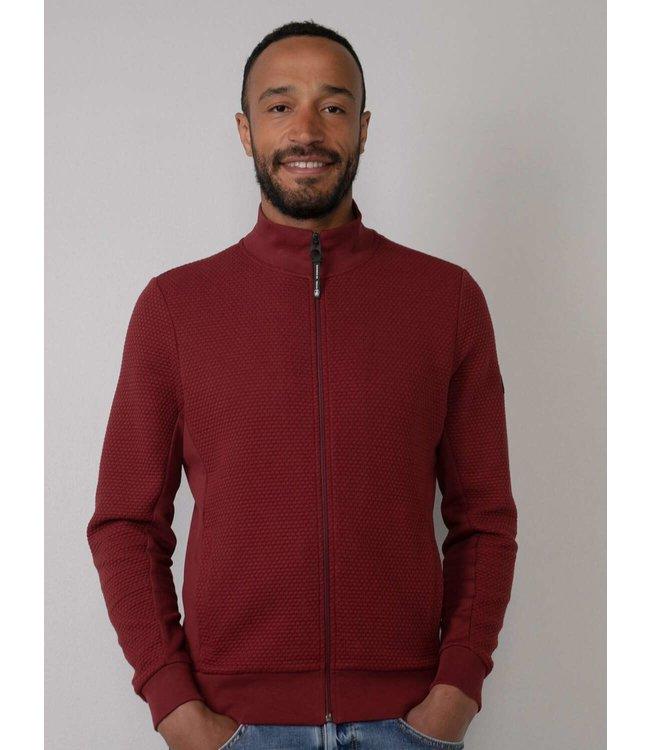 Petrol Industries Sweater collar rood M-3010-SWC327